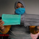 This Lady Produces Washable Face Mask After Being Sent Home by Her Factory