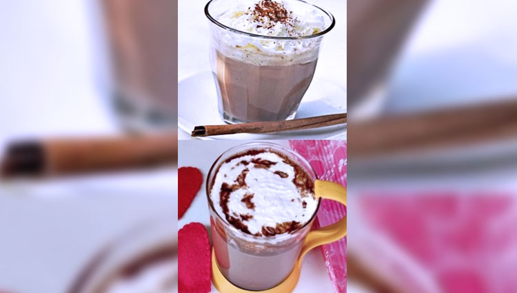 Cinnamon Hot Chocolate to Erase the Cold