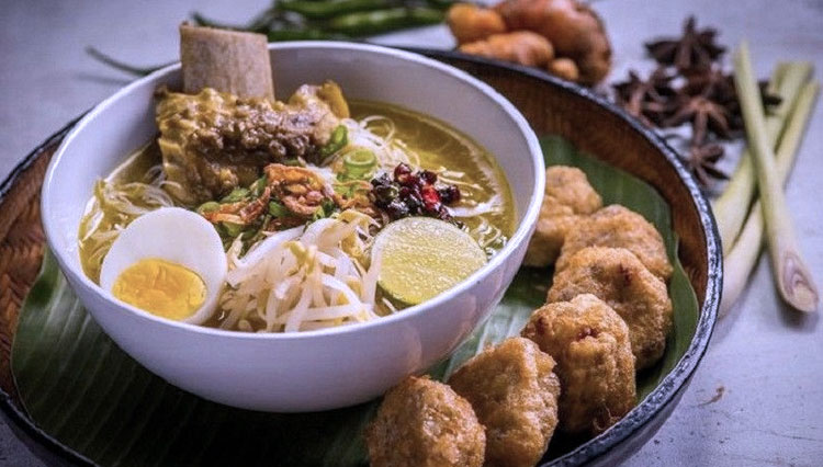 Soto, Indonesian Chicken Soup Which Adopted from Another Country