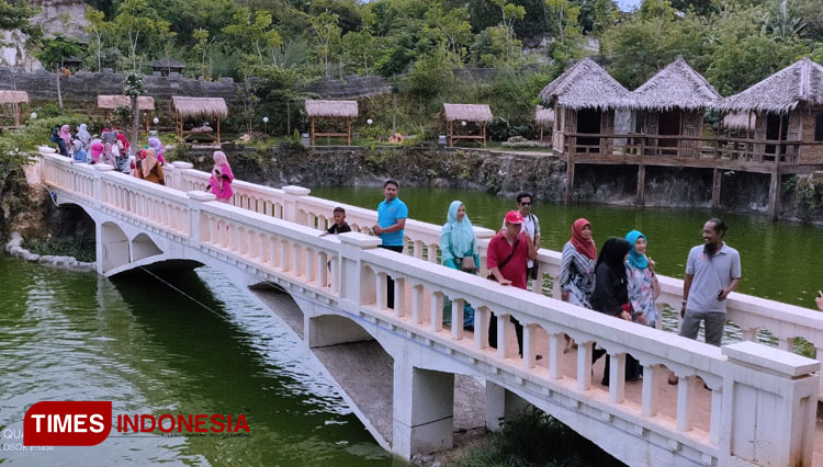Setigi, The First Tourist Destination Ever Opened in Gresik During New Normal