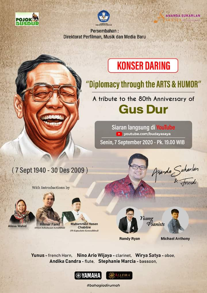 Konser Tribute to Gus Dur 2