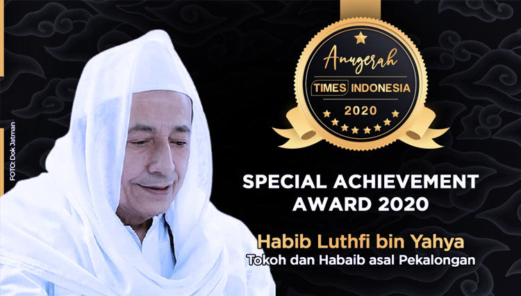 Here are the Reasons Why Habib Luthfi Granted with Special Achievement Award 2020