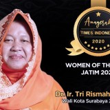 Women of The Year 2020 of East Java Goes to Tri Rismaharini