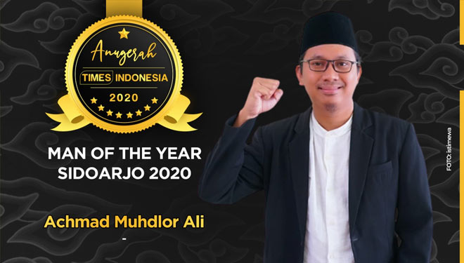 Milenial Peduli Lingkungan, Gus Muhdlor Raih Man of The Year Sidoarjo 2020