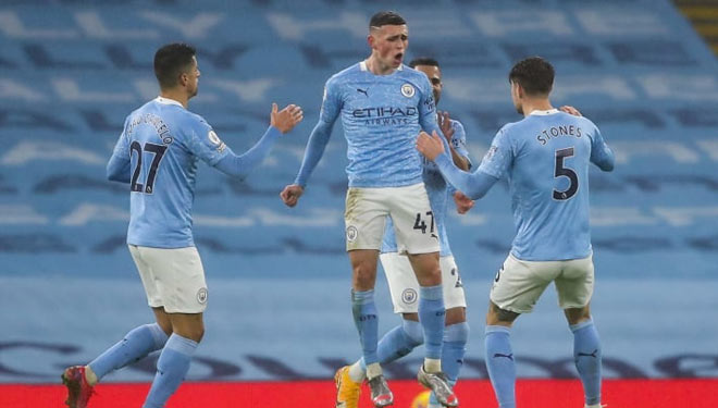 Manchester City Menang, Guardiola Puji Phil Foden