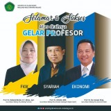 UIN Malang Has 3 New Respected Professors for Their University