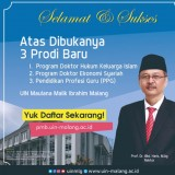 UIN Malang Added 3 Doctoral Programs to Their University