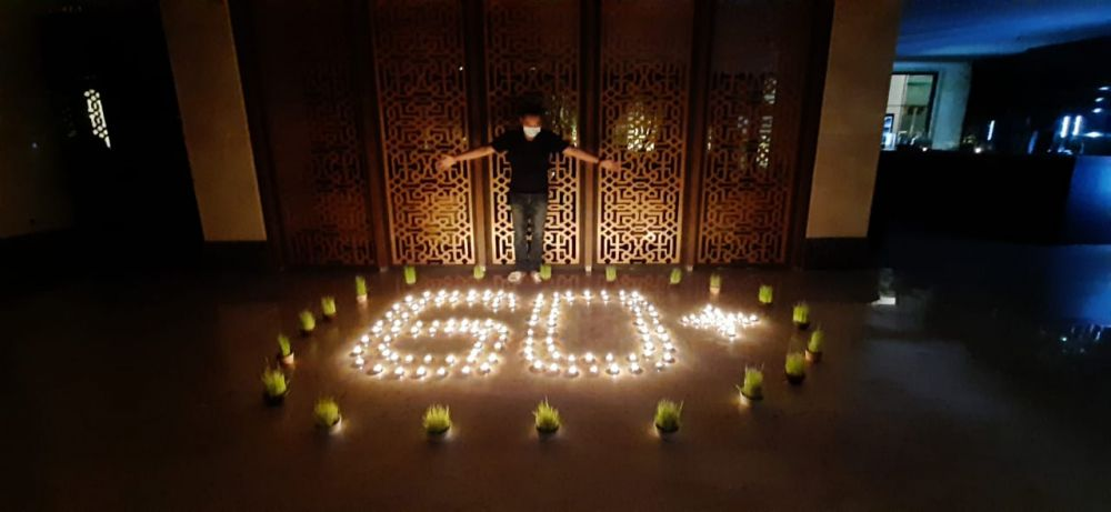 Earth Hour di Jogja 2