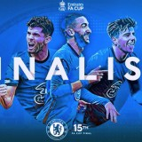 City Gagal Quadruple, Chelsea ke Final Emirates FA Cup