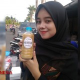 These Students of SMK Harapan Mulya Ponorogo Invented Their Herbal Drink Recipe