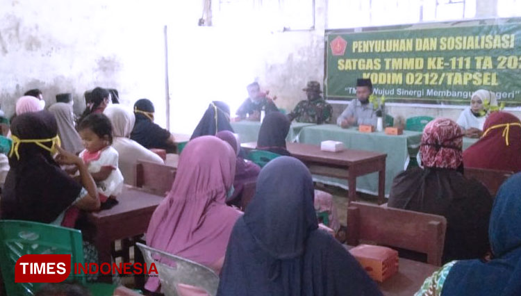 TMMD South Tapanuli Helps the Locals to be more Independent