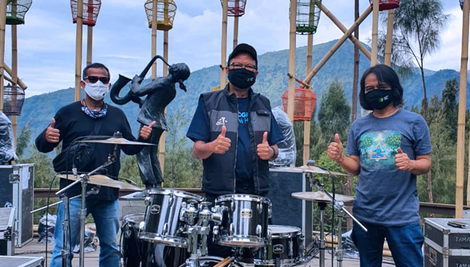 Bring Back the Groove to Bromo with Jazz Gunung Series